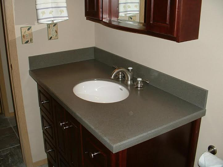 corian bathroom countertop - newcountertop